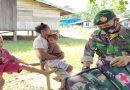 Cegah Wabah Penyakit di Penghujung Tahun, Satgas Yonif MR 413 Kostrad Gelar Pengobatan Keliling