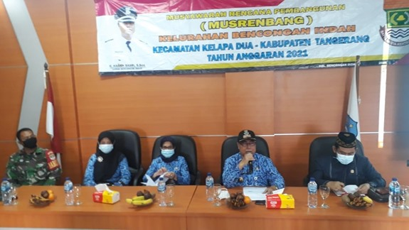 Musrembang Kelurahan Bencongan Indah, Dihadiri Anggota Dewan Komisi 2
