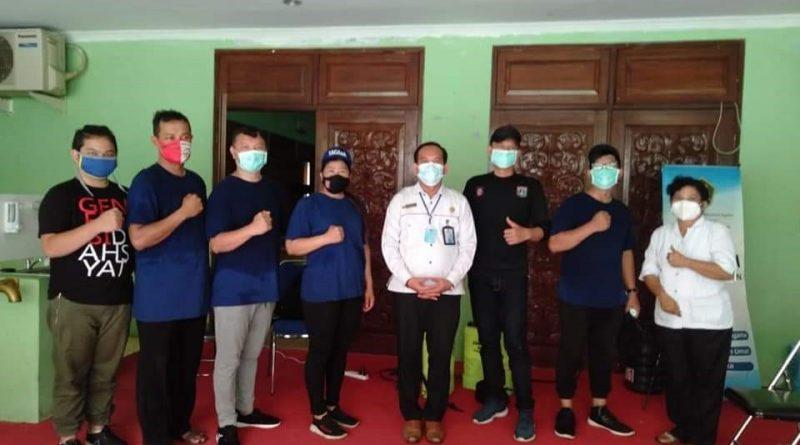 Kantor Kanwil Kemenag Banten Melakukan Penyemprotan Disinfektan guna Pencegahan Covid 19