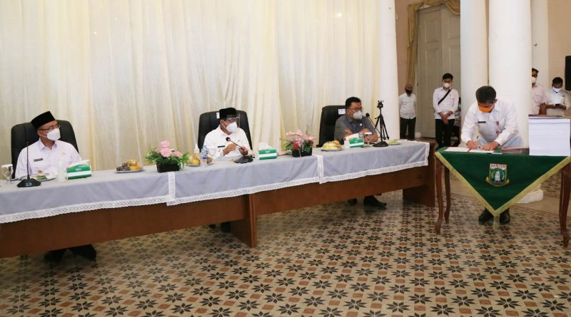 Hari Ini Gubernur Banten Serahkan DPA SKPD Tahun Anggaran 2021
