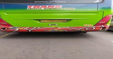 BRT koridor 1 Kota Tangerang Lalai Bayar Pajak