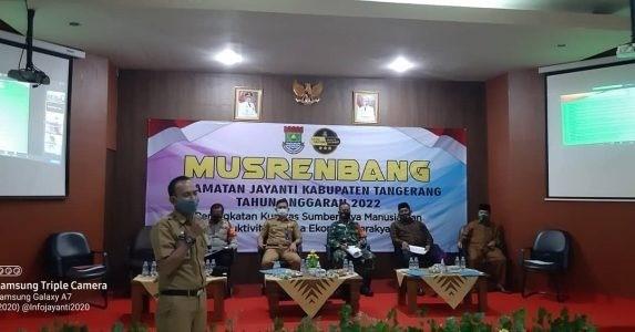 """Warga Kecewa lEGISLATOR Kabupaten Tangerang Dapil 1 """"Boikot"""" Acara Musrembang Kecamatan Jayanti"""