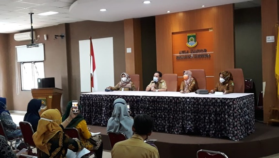DP3AP2KB Kota Tangerang Menggelar Program Pendaatan Keluarga Dalam Rangka Mensukseskan Program Nasional