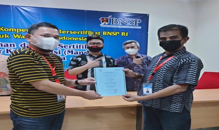 Dewan Pers Indonesia Miliki Asesor Kompetensi Wartawan Bersertifikat BNSP