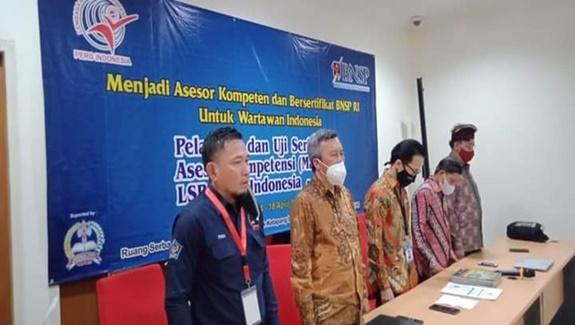 Latih Asesor Wartawan, BNSP Larang Dewan Pers  Sertifikasi Wartawan, Jika tidak Mendirikan LSP