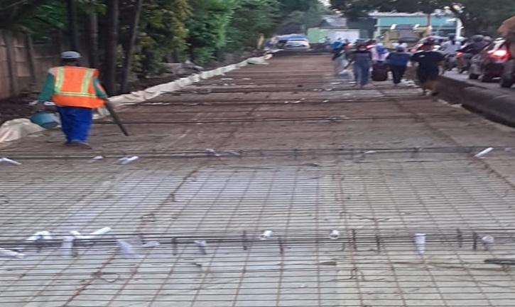PUPR Kota Tangerang Melaksanakan Percepatan Perbaikan Jalan Yang  Rusak