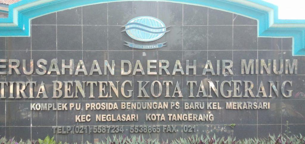 PDAM Tirta Benteng Kota Tangerang,