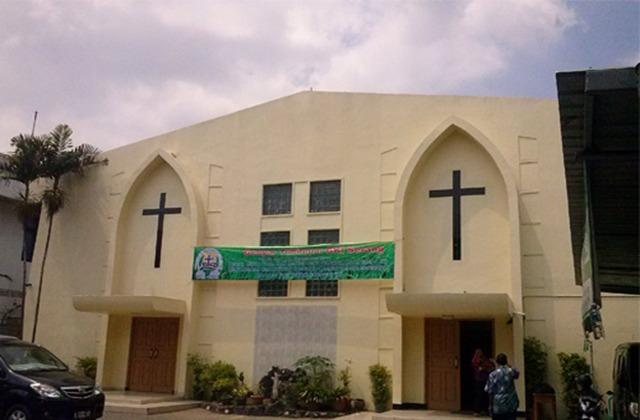Gereja Di Banten Gelar Ibadah kenaikan Isa Al Masih Usai Sho;at Idul Fitri