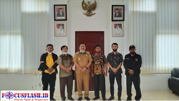 DPD Akrindo Kepulauan Nias Berkunjung ke Pemerintahan Kab. Nias Selantan dalam Rangka Membangun Kemitraan