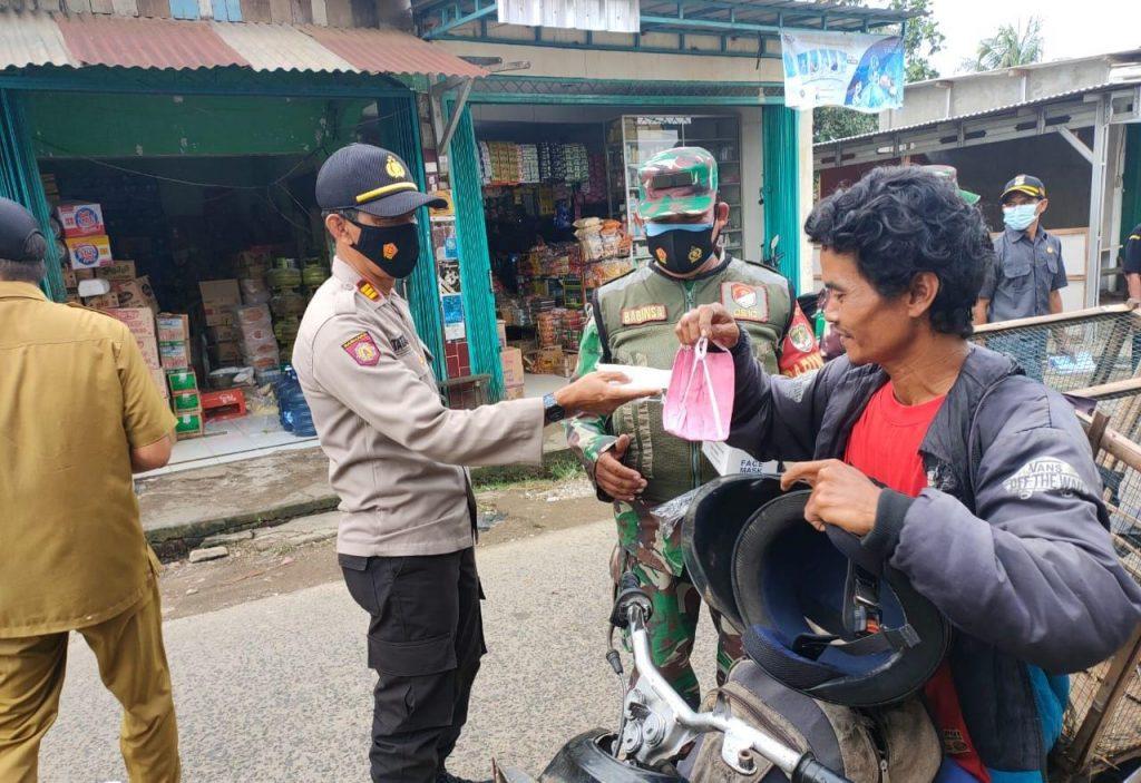 *Polresta Tangerang Gelar Baksos dan Bagikan 29.269 Helai Masker Jelang Hari Bhayangkara ke-75