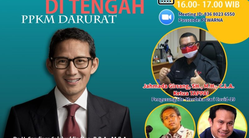 Pewarna Indonesia Bertahan Ditengah PPKM Darurat'lebih Kreatif