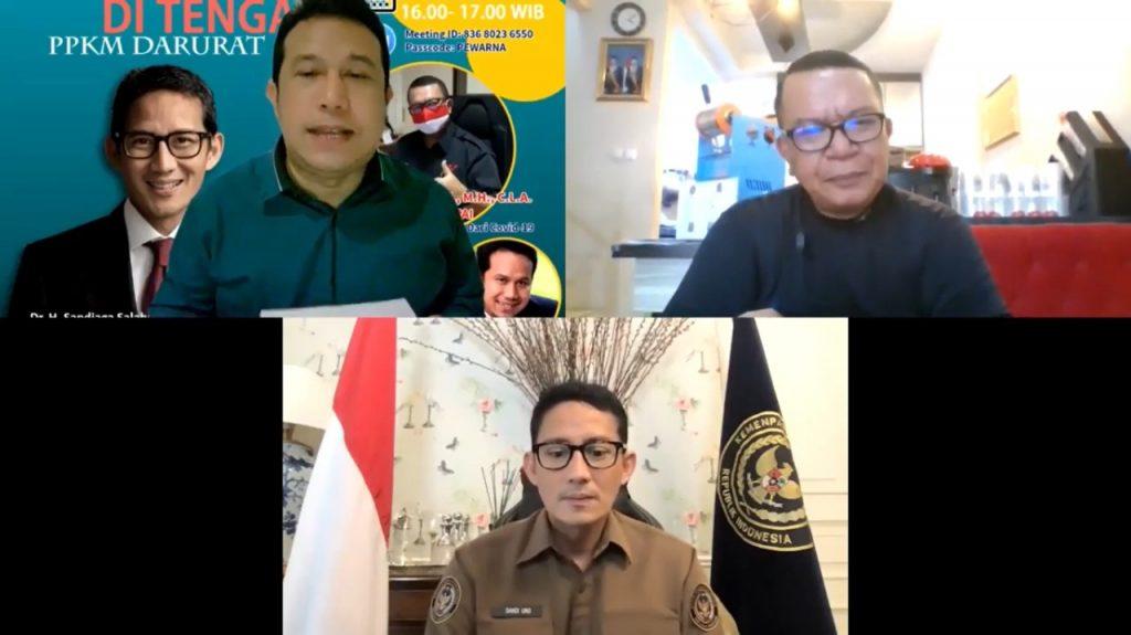 Pewarna Indonesia Bertahan Ditengah PPKM Darurat