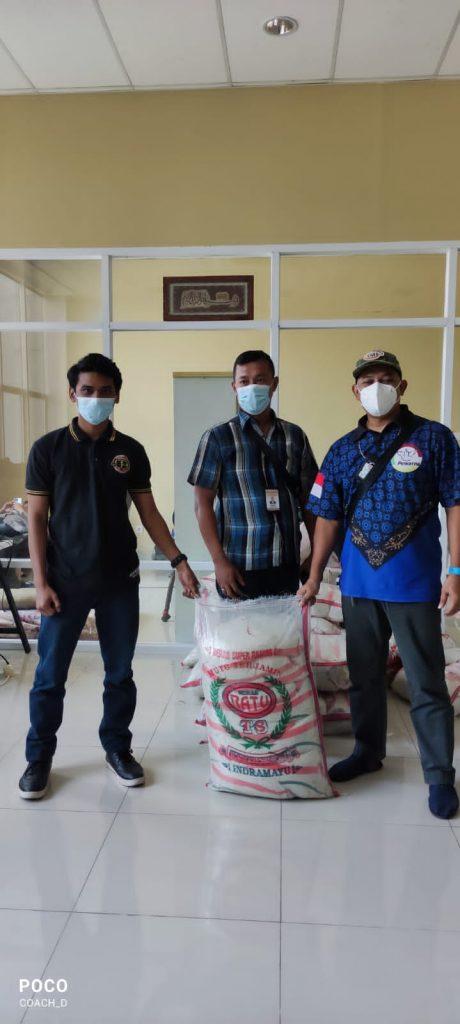 PEWARNA Banten Menerima Bantuan Beras