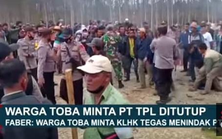 Perwakilan Masyarakat Toba Lakukan Gerakan Moral atas PT TPL