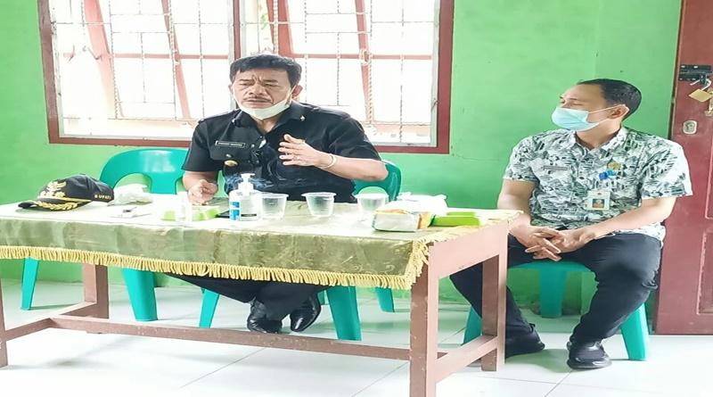 Bupati Nias Barat Lakukan kunjungan di Desa Sisobaoho Kecamatan Mandrehe Barat.