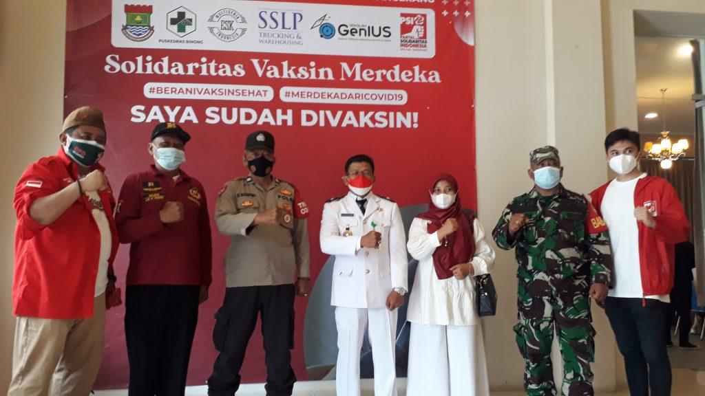 PSI Sinergis Pemerintah Kabupaten Tangerang