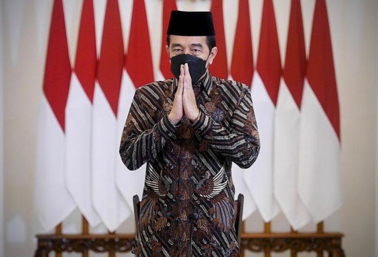 Presiden Joko Widodo Ajak Seluruh Elemen Bangsa indonesia Ikhtiar Melawan Pandemi Covid-19
