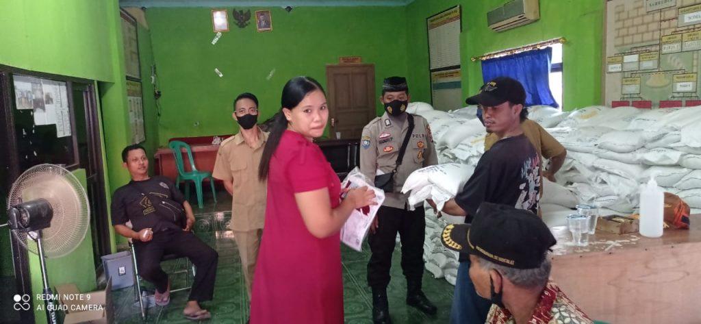 Polresta Tangerang Kawal Distribusi Bansos Beras BST dan PKH