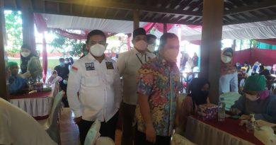 Dewan Gerindra; Harapan kita dengan vaksinasi ini di kota Tangerang dapat mengakhiri pademi covid19.