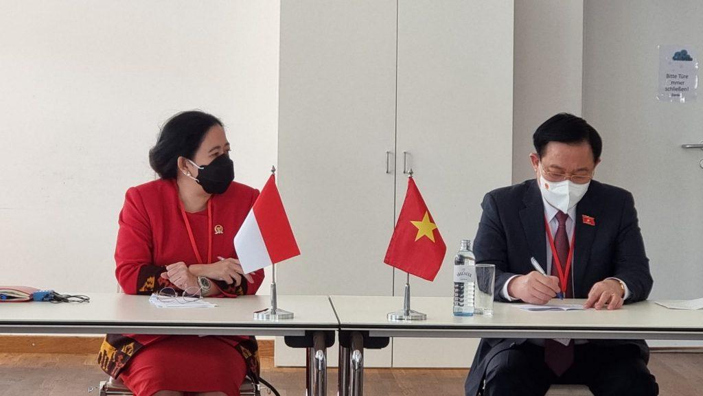 Bertemu Ketua Parlemen Austria dan Vietnam, Puan Bicara Penanganan Covid-19