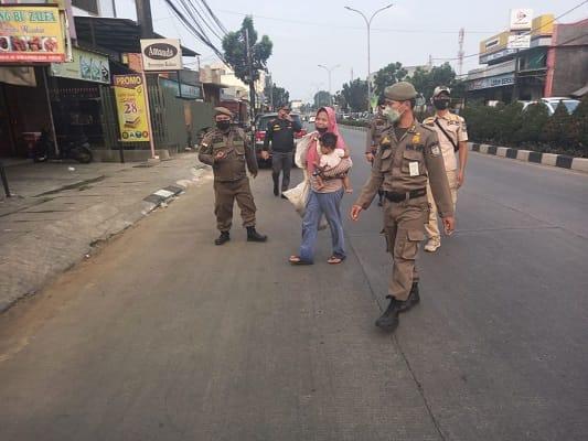 Satpol PP Tangsel Menertibkan 16 PMKS Disegala Wilayah di Sudut Kota Tangsel