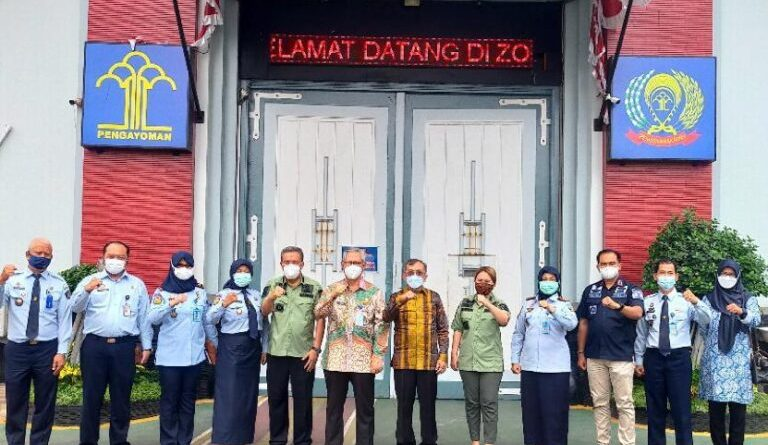 Staf Khusus Menteri Hukum dan HAM Berikan Pembinaan Pembangunan Zona Integritas di Lapas Pemuda Kelas IIA Tangerang